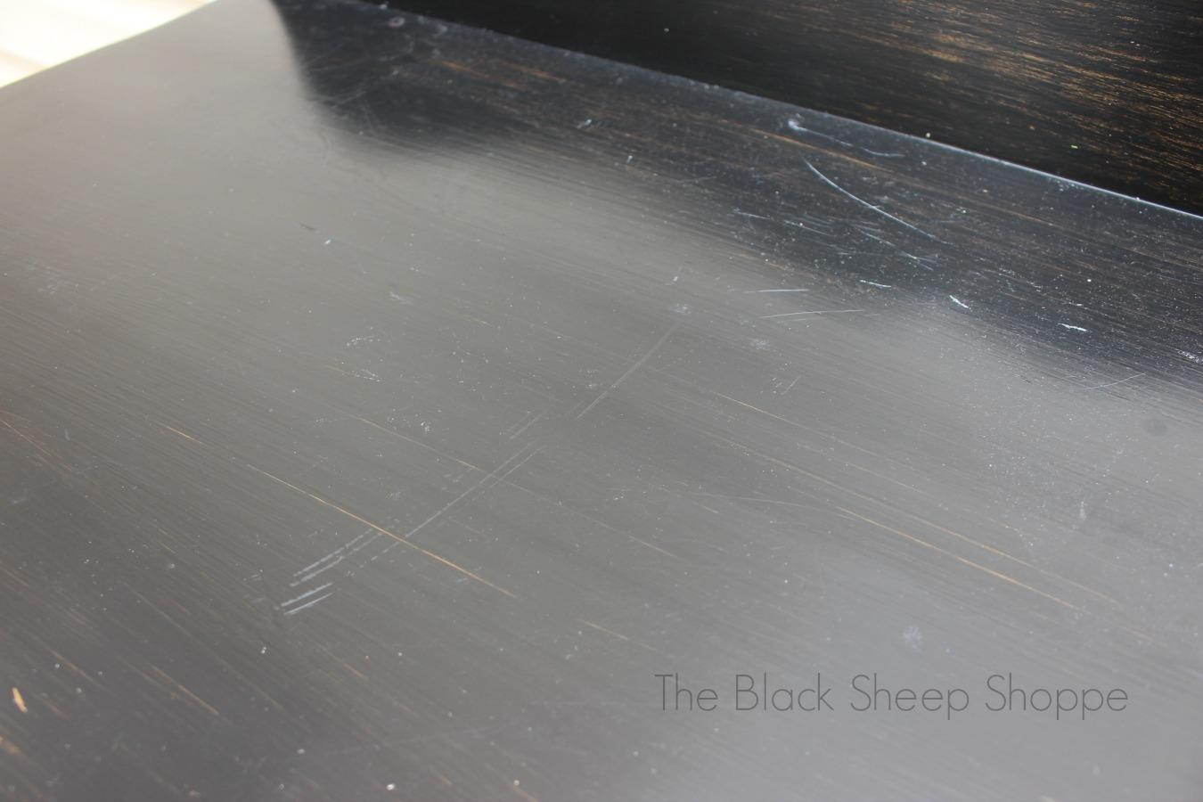 Bumpy finish on surface