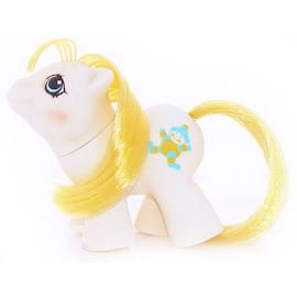 My Little Pony Big Top Year Six Newborn Twin Ponies II G1 Pony