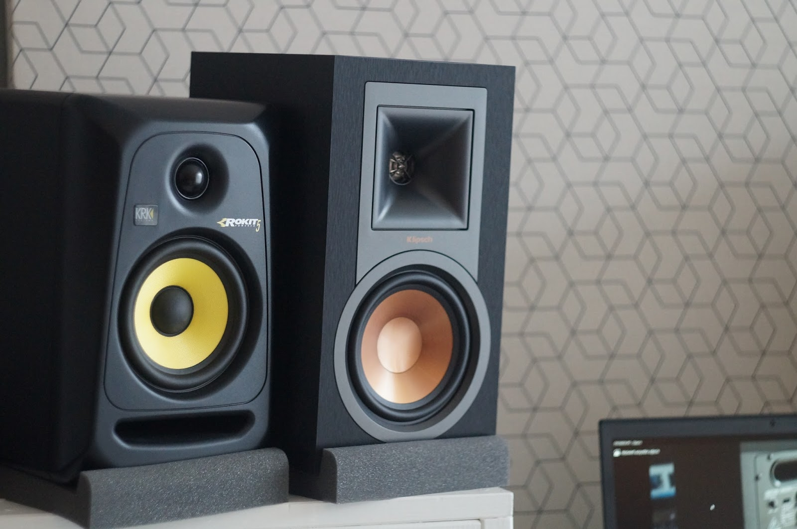 Klipsch R-15PM powered speakers review. Can they beat my ...