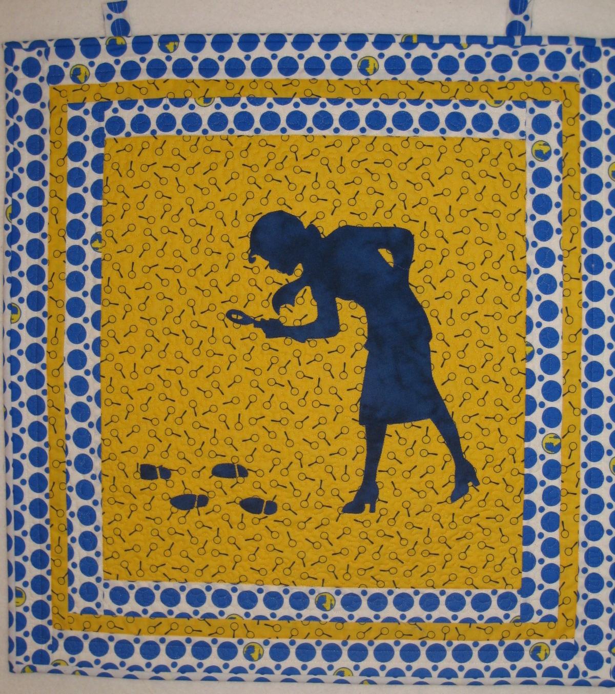 Pieced Brain: Nancy Drew Blog Hop