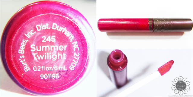 Burt`s Bees Philippines Lip Gloss - Summer Twilight (Product Reviews by @TheGracefulMist | www.TheGracefulMist.com)