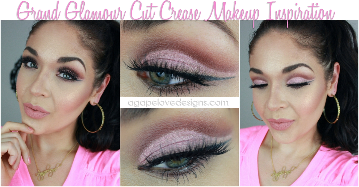 f02406c7006 Agape Love Designs: Grand Glamour Cut Crease Makeup Inspiration