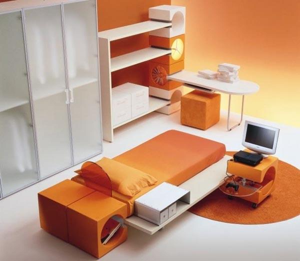 Contoh kamar tidur anak fungsional minimalis