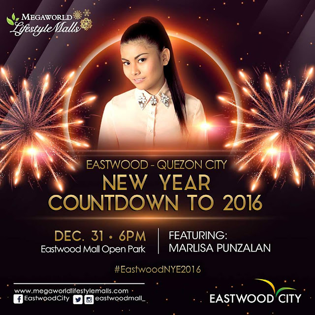 Eastwood City New Year Countdown to 2016