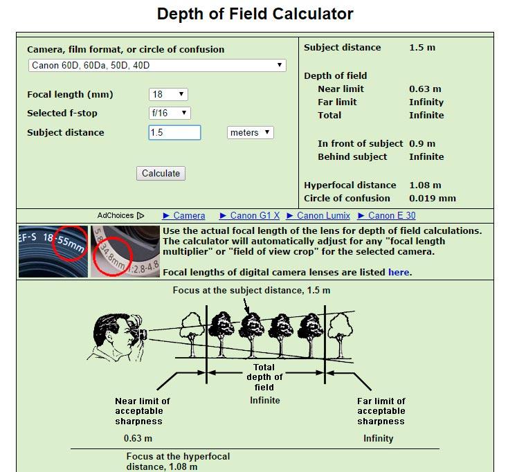 Captura de pantalla de http://www.dofmaster.com/dofjs.html