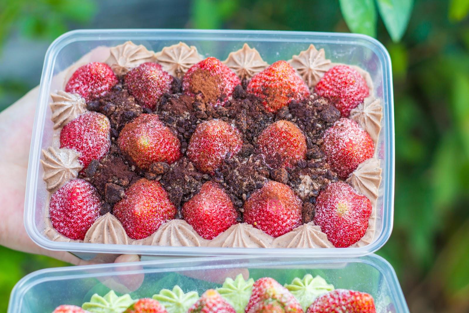 臺南草莓【貝絲貝絲】北區甜食!臺南地表最強的草莓蛋糕妳吃過了嗎?群組一開單就秒殺的神極甜點!小山園 ...