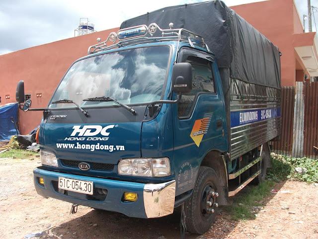 taxi tải Hồng Đông