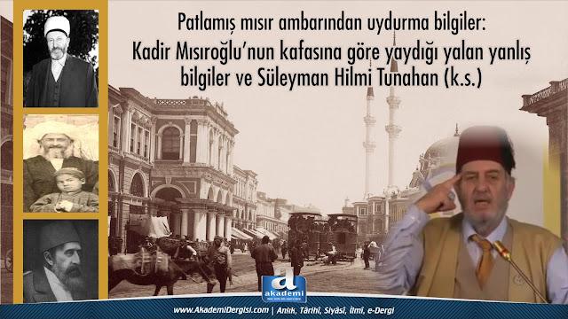 hareket ordusu, Kadir Mısıroğlu, Mehmet Fahri Sertkaya, Rabıta, sultan II. abdülhamid han, süleyman hilmi tunahan, tarih, Tasavvuf, tasavvuf büyükleri, ali eren, İmam-ı Rabbani,