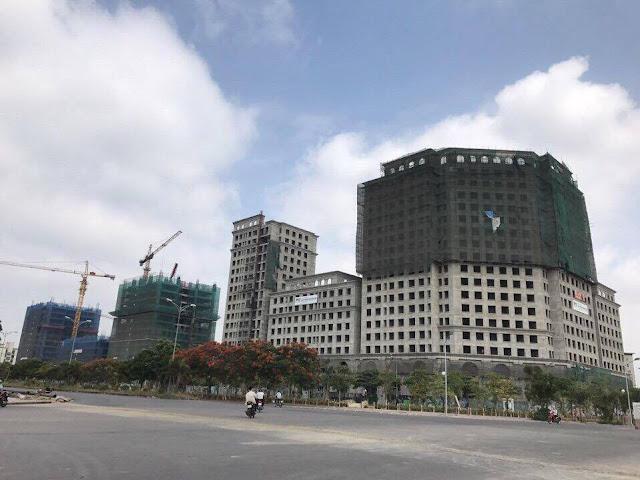 Eco City trở lại đầy ấn tượng với tiến độ xây dựng vượt dự kiến