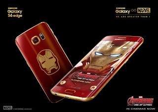 Samsung S6 edge Iron Man Edition