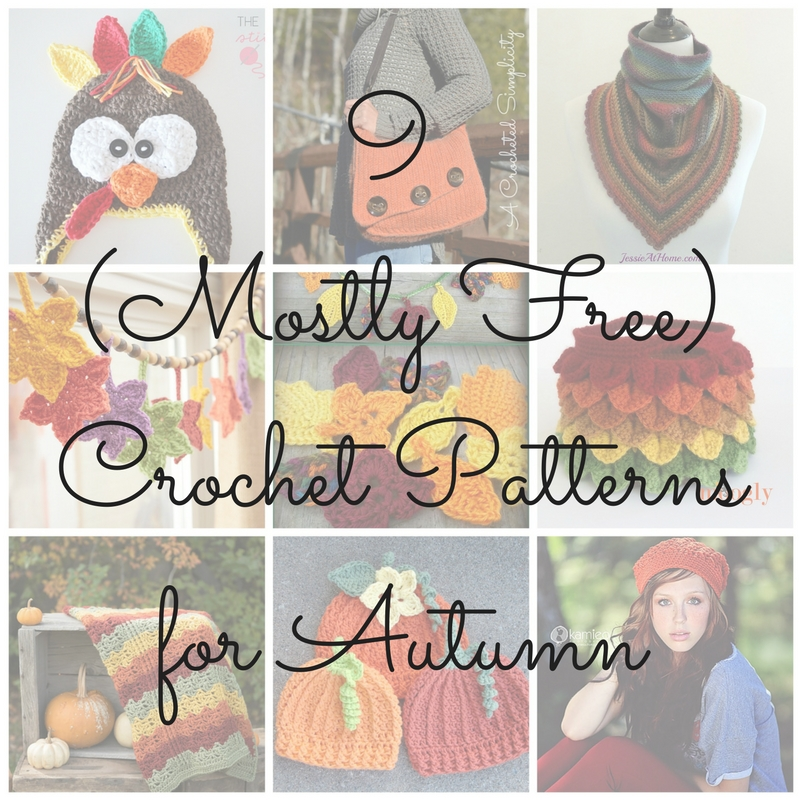 Cgoa Now 9 Mostly Free Autumn Crochet Patterns