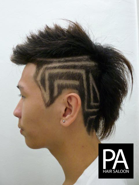 gorgeous tribal hair tattoos