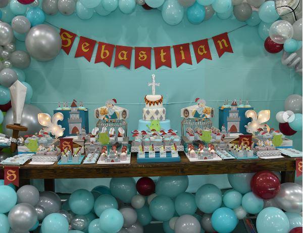 Hijo pequeño de Luis Chataing cumplió un año y le hicieron tremenda fiesta