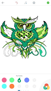 Dessins de Coloriage Hibou Owl%2BColoring%2BPages%2BAndroid%2BScreenshot%2B5