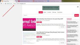 Merubah Setingan HTTPS Blogger Untuk Costum Domain