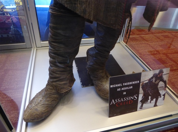 Assassins Creed Aguilar costume boots