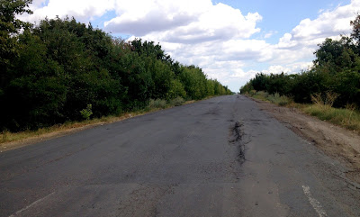 Drogi na południu Ukrainy