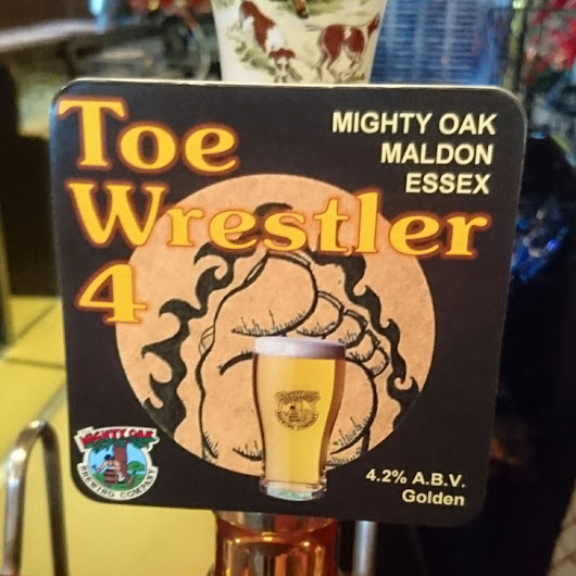 Essex Craft Beer Review: Toe Wrestler 4 from Mighty Oak