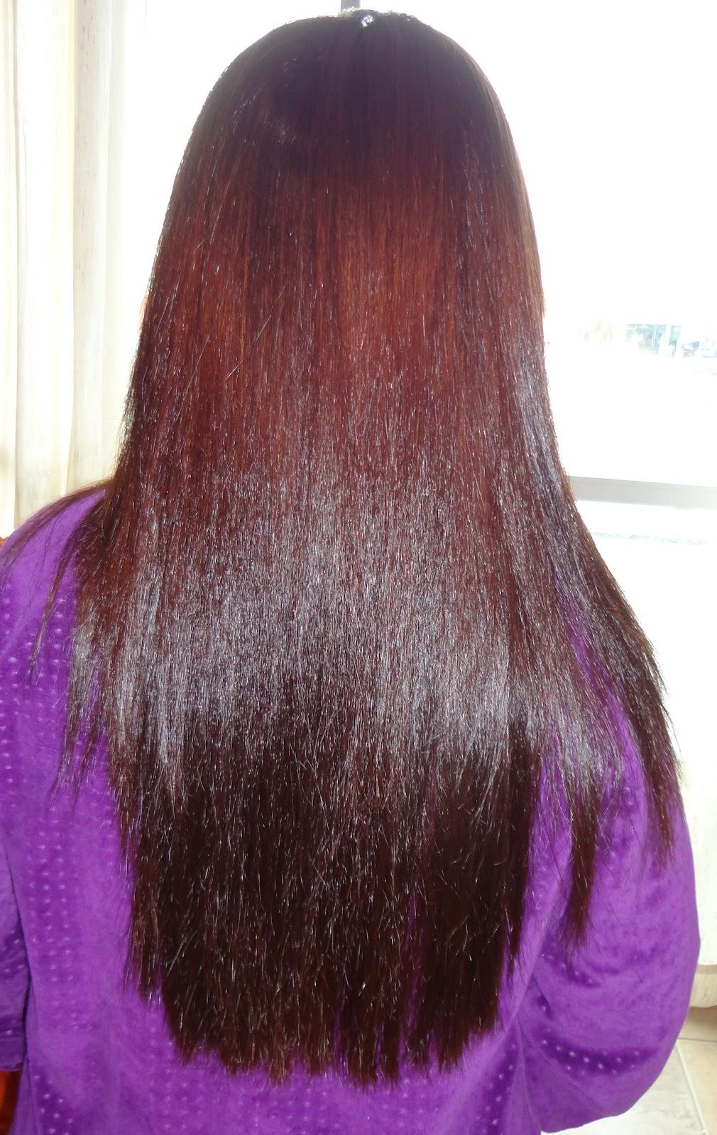 39f3bca24 ... sentir o cabelo bem áspero, na última aplicação do shampoo, deixei ele  agir nos cabelos por 5 minutos. Após lavar sequei os cabelos 100% com  secador.