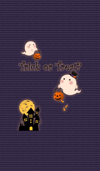 Ghostly Halloween + navy [os]