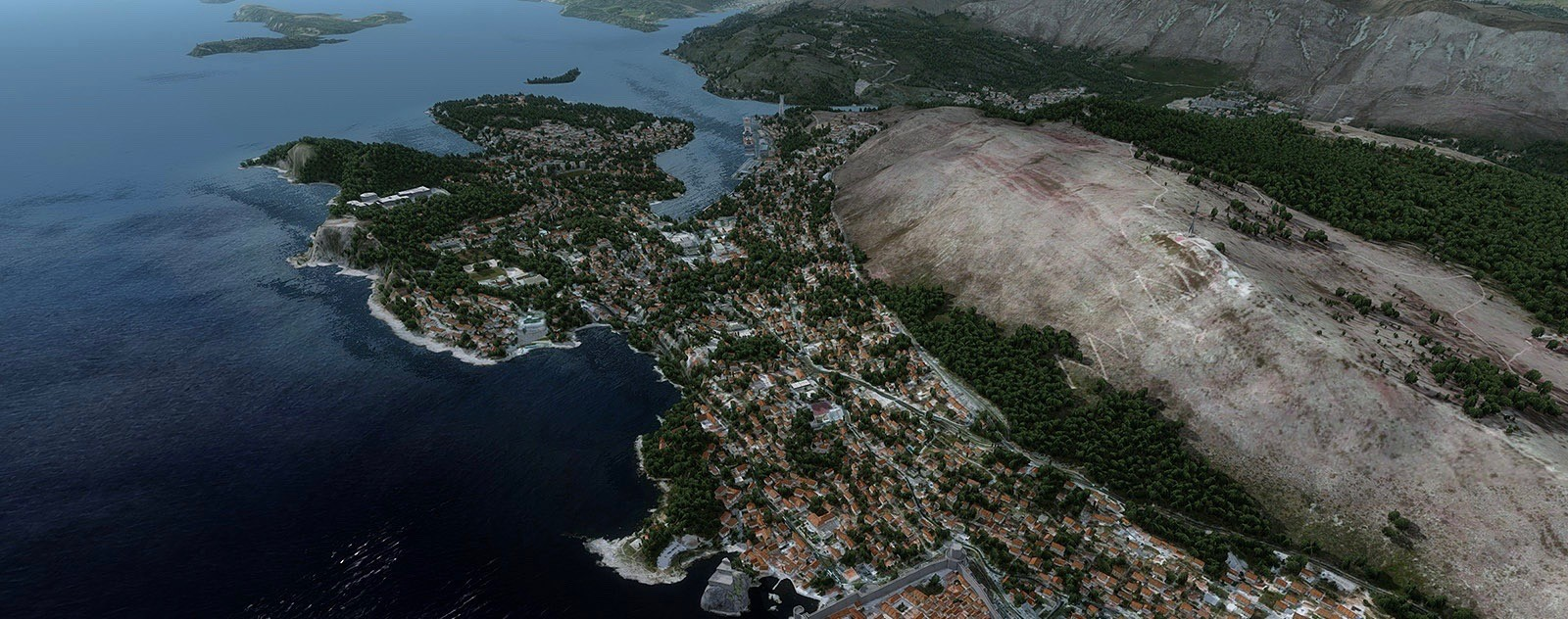 Download Scenery ORBX Dubrovnik Airport (LDDU) #FSX #P3D
