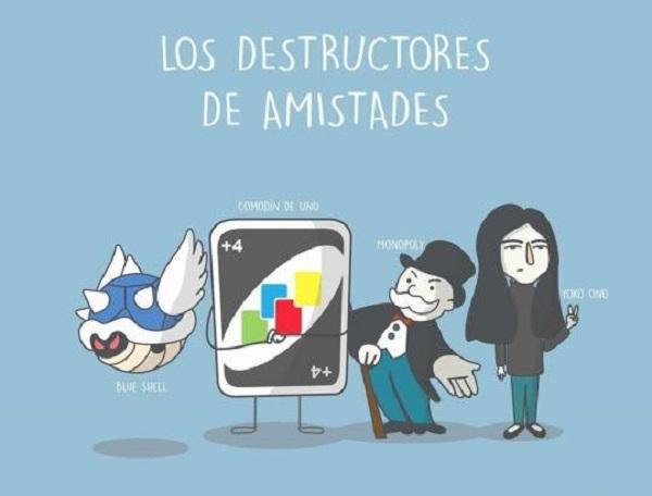 Los destructores de amistades
