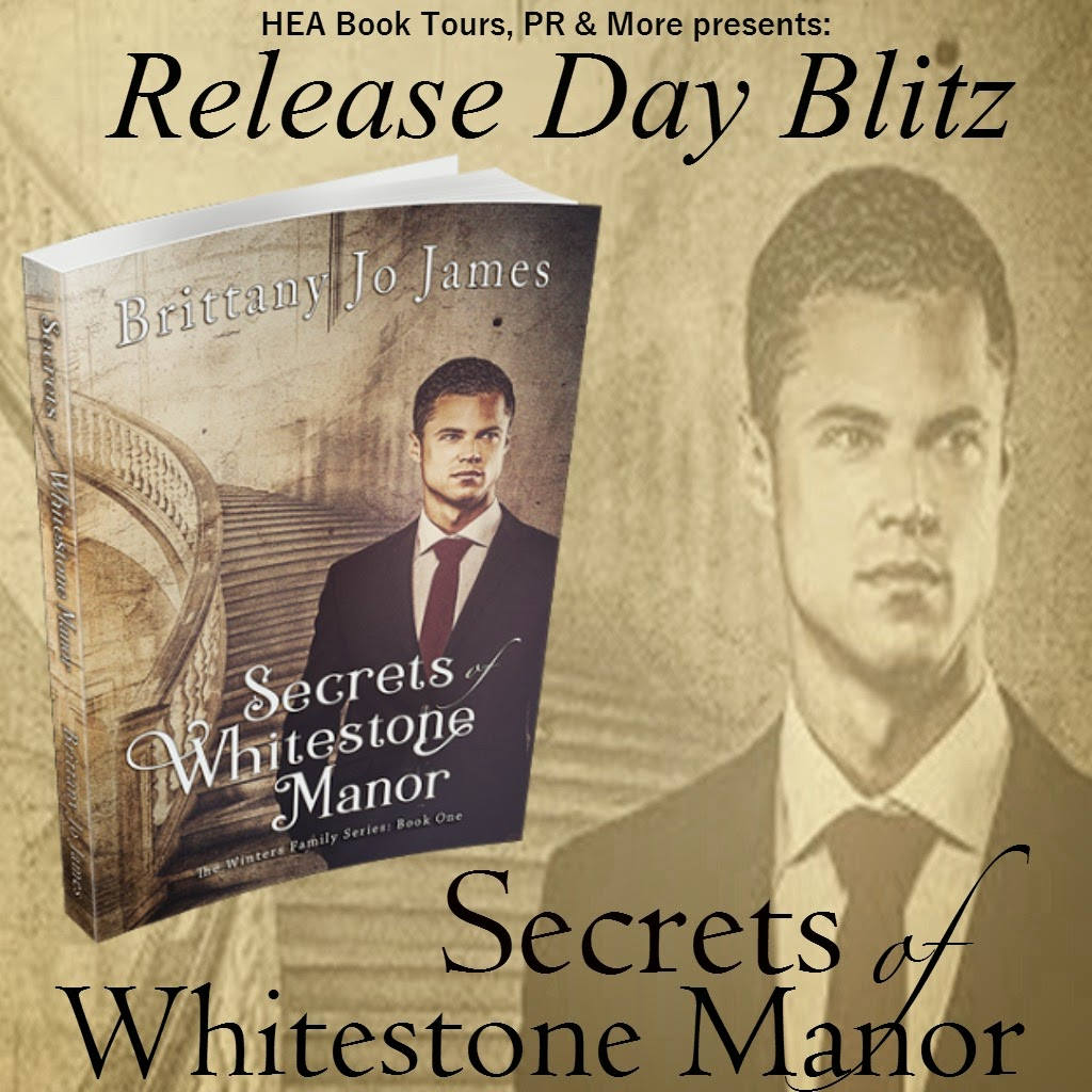 Release Day Blitz: Secrets of Whitestone Manor