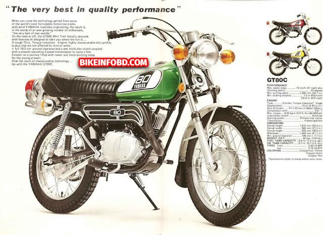 Yamaha GT80