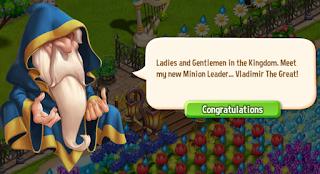 Royal Story, Wizard is wearing a blue cloak