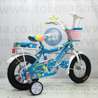 Sepeda Anak Perempuan Wimcycle Zilla 12 Inci