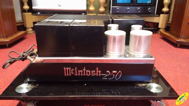 Power - McIntosh MC250 - Made in USA