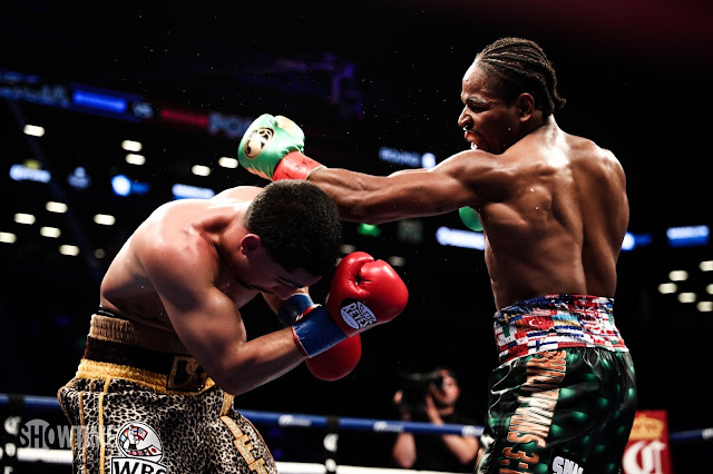 Shawn Porter Vs Danny Garcia Fight Photos