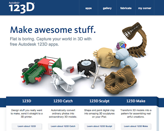 autodesk 123D, 3d print, design, cool idea