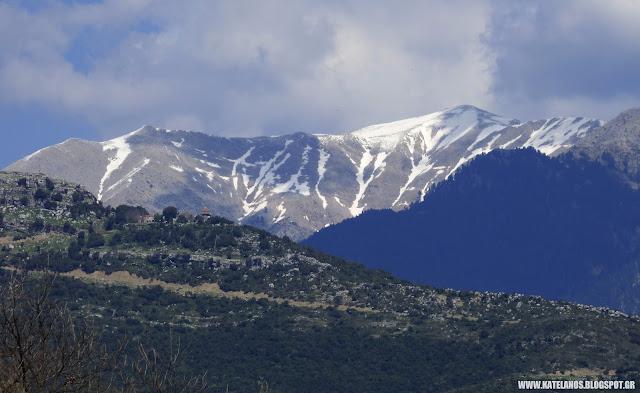 κατελάνος παναιτωλικό όρος χιονούρες
