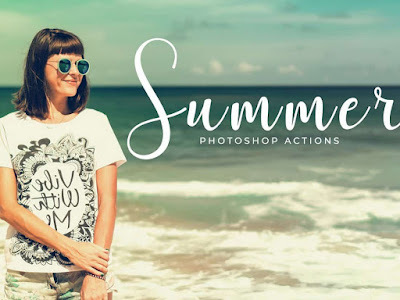 Free Summer Photoshop Action