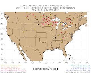 National Weather Service Burlington VT Map Us Average High Low - Us weather map temperature highs