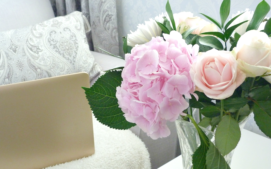 an image of Cornish Rose Bouquet Debenhams Flowers