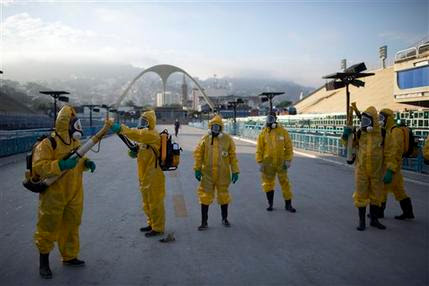 UN HEALTH AGENCY REJECTS CALL TO POSTPONE RIO OLYMPICS