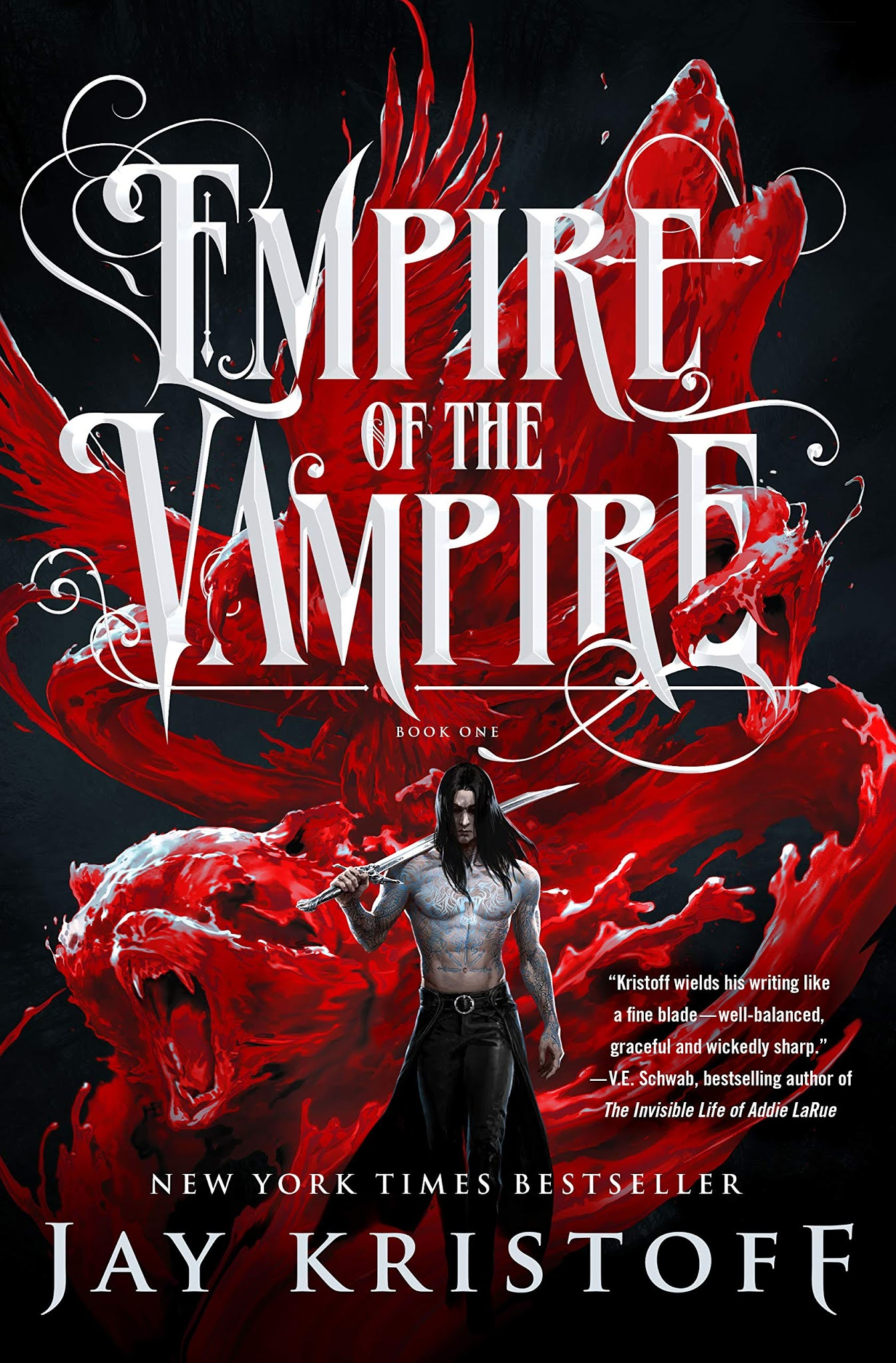 Empire of the Vampire by Jay Kristoff (US Edition)