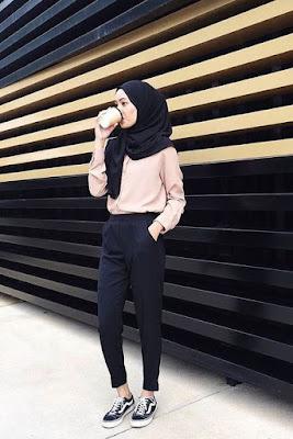 hijab pashmina kampus tutorial hijab paris kampus  tutorial hijab remaja kampus
