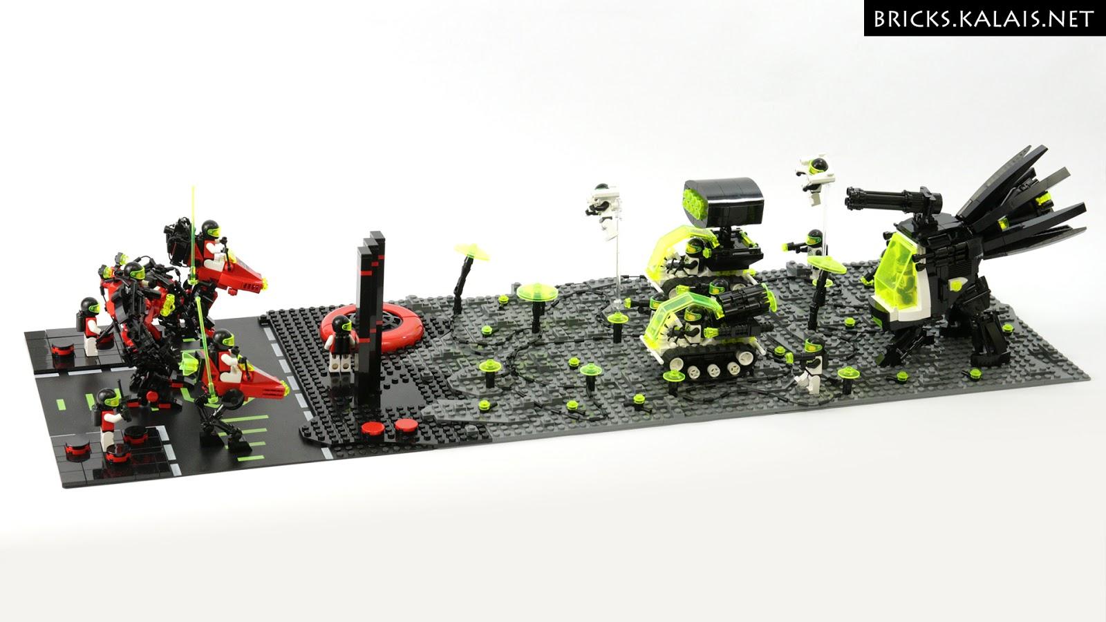 [MOC] Blacktron II vs M:Tron