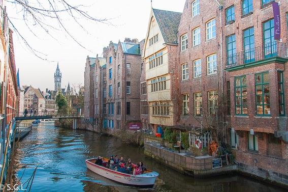 Un dia en Gante en Belgica