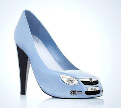 shoe like a car