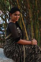 Tamil Actress Sri Priyanka Pos in Saree at Pichuva Kaththi Tamil Movie Audio Launch  0009.JPG