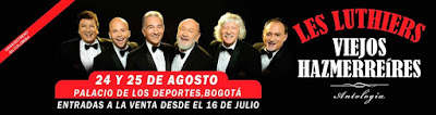 LES LUTHIERS Viejos Hazmerreires en Bogotá 1