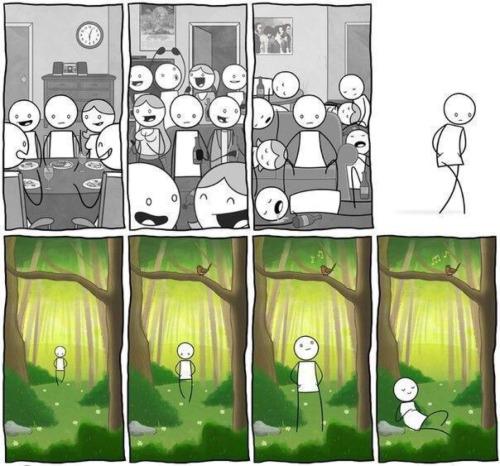 Pessoa introspectiva