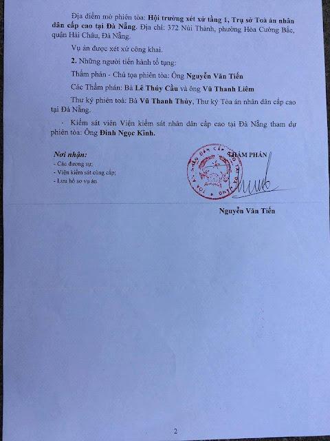 Hòa Thượng kiện chủ tịch UBND tỉnh Bình Định