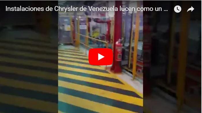 Instalaciones de Chrysler de Venezuela lucen como un peladero de chivos