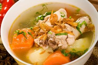 Sop Ayam Khas Kalimantan Selatan