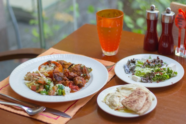 Mediterranean Cuisine at Circles Event Cafe
